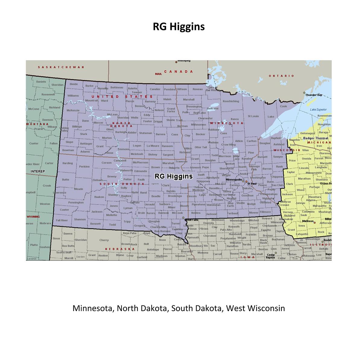 Adsco Rep RG Higgins