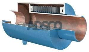 ADSCO pressure master bellows joint with weld ends