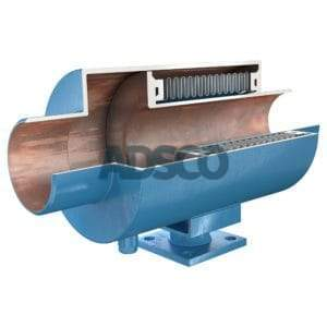 ADSCO welded end pressure master bellows joint with stand