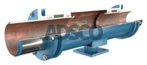 ADSCO weld ends double slip type expansion joint