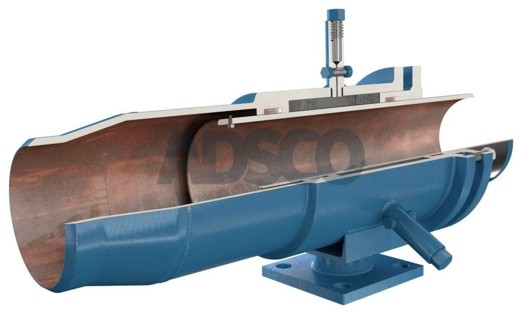 ADSCO weld ends slip type expansion joint