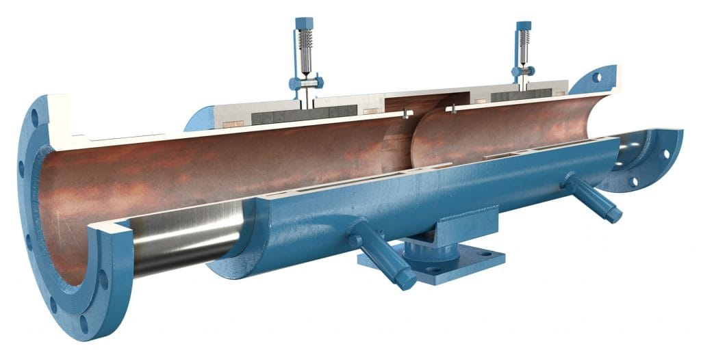 ADSCO flange ends double slip joint with stand